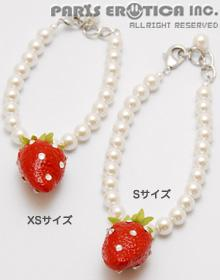 STRAWBERRY CHOKER (XS-S)