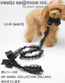 LINGERIC LEASH TULLE AND SATIN
