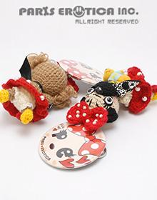MINNIE STYLE DOLL KEY CHAIN