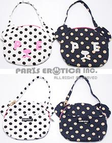 POLKADOT BEAR MANNER POUCH