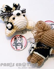 COCO's BIG Amigurumi Key Chain