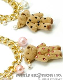 CRYSTAL BEAR NECKLACE
